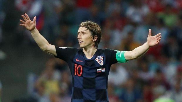 Luka Modric disebut-sebut sebagai salah satu kandidat pemenang Ballon d'Or 2018.