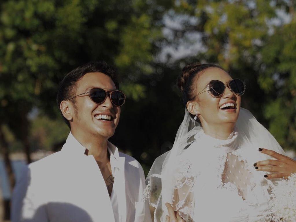 Masih Untai Kata Romantis, Postingan Pertama Dimas-Nadine Usai Pesta Nikah