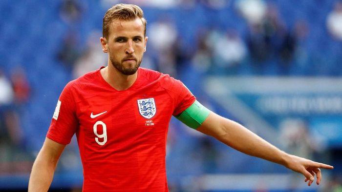 Harry Kane berhak atas Sepatu Emas usai jadi top skor Piala Dunia 2018 (Foto: Max Rossi/Reuters)