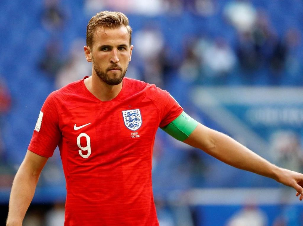 Top Skor Piala Dunia 2018: Harry Kane Rebut Sepatu Emas