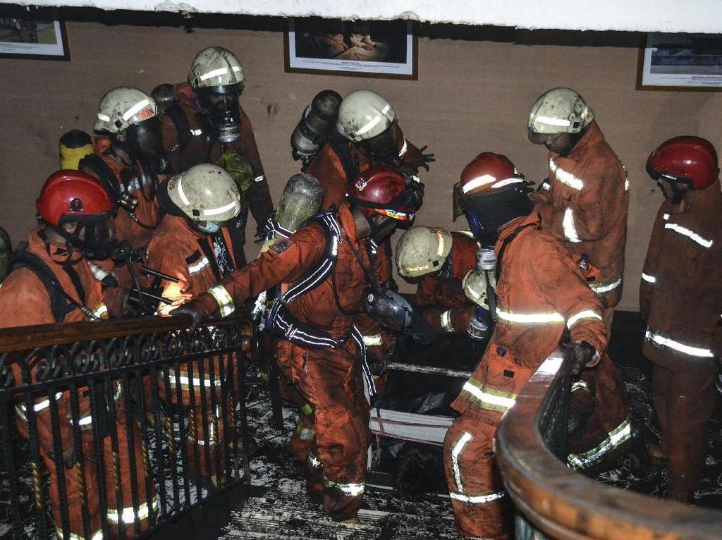 Kemenhub Tanggung Semua Biaya Perawatan Korban Kebakaran