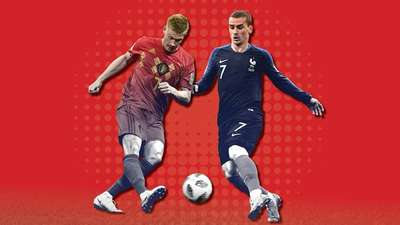 Gol-gol Perempatfinal Piala Dunia 2018 dalam Angka