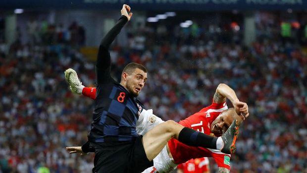 Mateo Kovacic membawa timnas Kroasia hingga ke final Piala Dunia 2018.