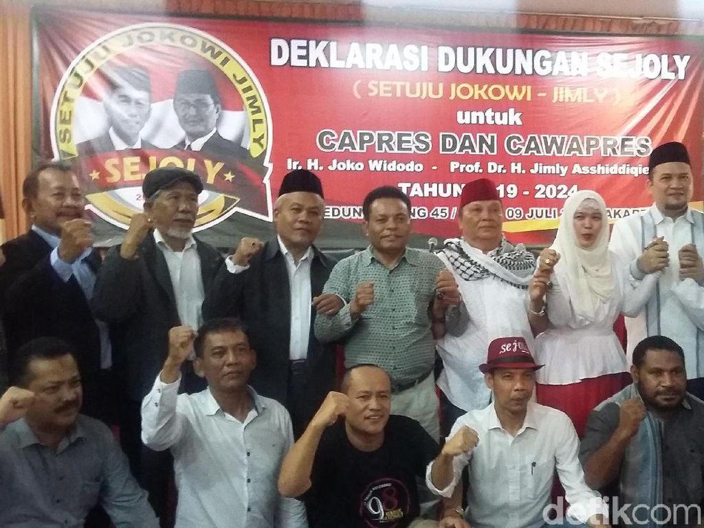 Relawan Sejoly Deklarasikan Jokowi-Jimly untuk Pilpres 2019