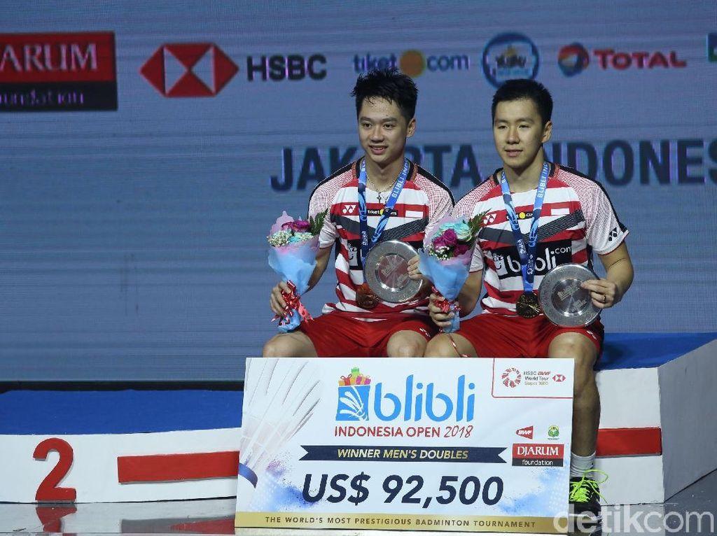 Terbesar Kedua di Dunia, Berapa Hadiah Uang di Indonesia Open 2019?