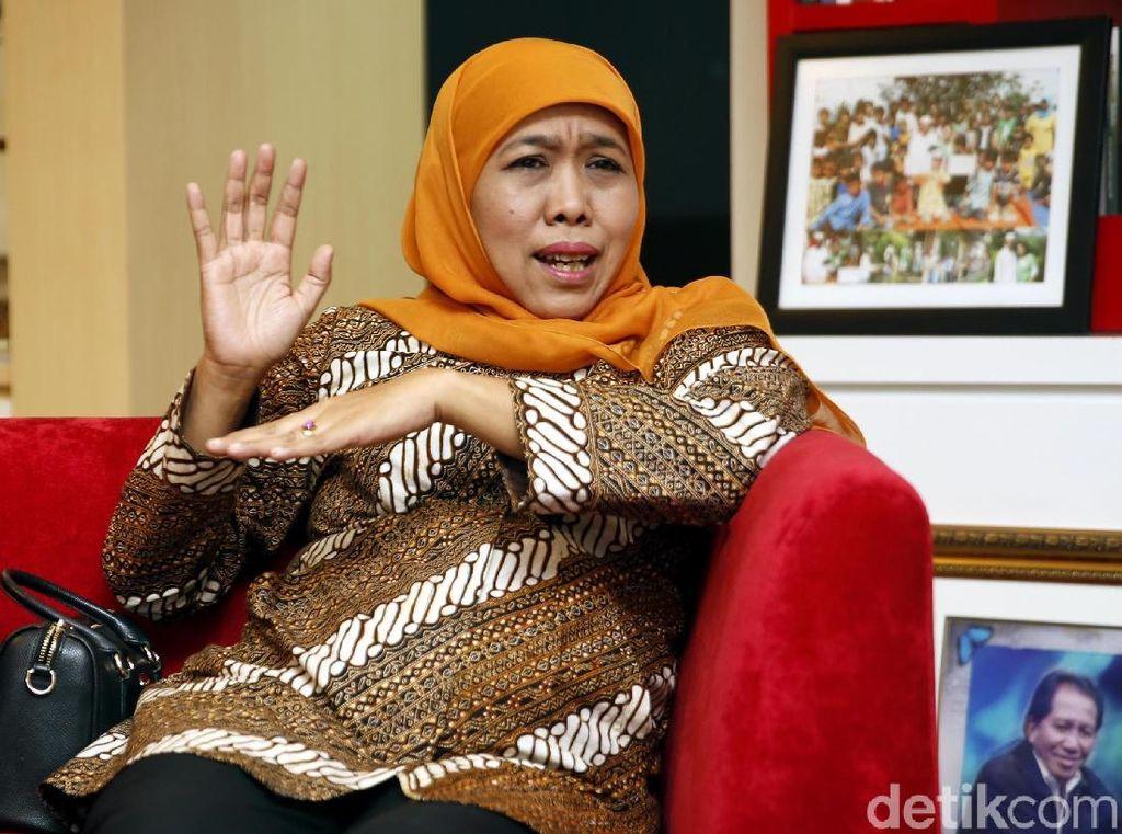 Rencana Khofifah Bikin Jawa Timur Mirip DKI Lewat Transportasi Umum