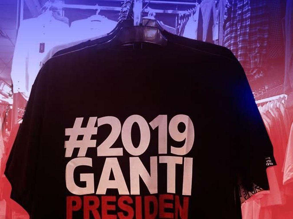 Tahun Berganti, Slogan 2019 Ganti Presiden Dimodifikasi