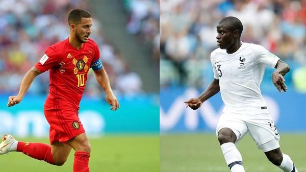 Belgia Punya Keuntungan Hadapi Prancis