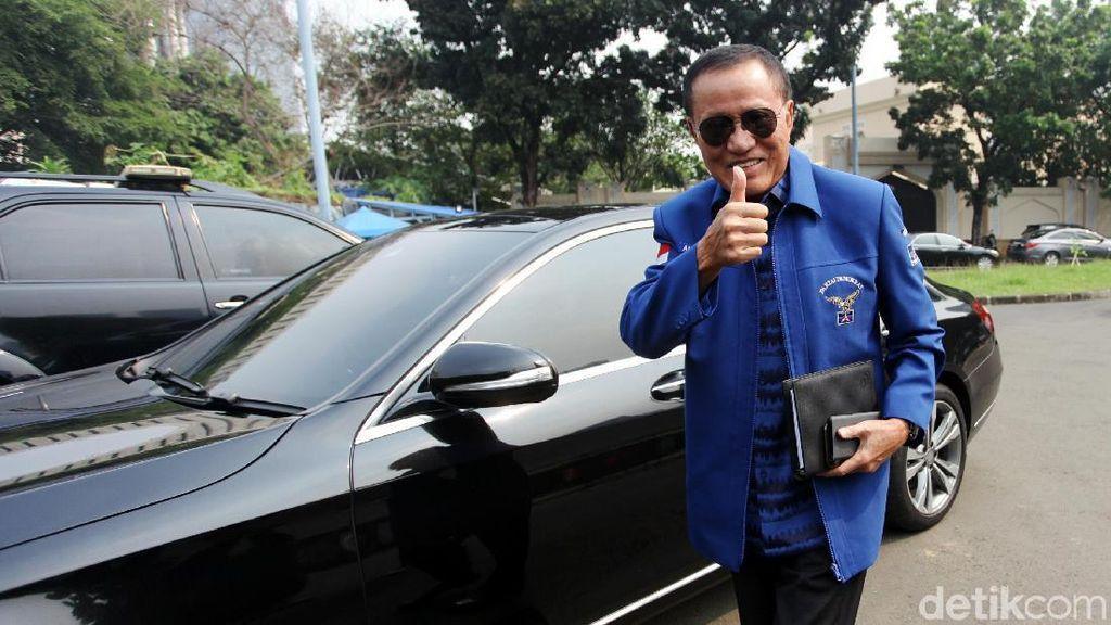 Elite Demokrat Merapat ke Rumah SBY Bahas Capres