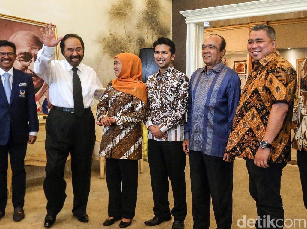 Gubernur Terpilih Jawa Timur Bertemu Ketua Umum Partai NasDem