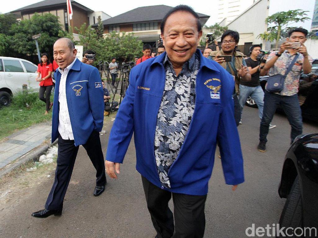 Nama Prabowo-Jokowi Dibahas dalam Rapat PD, Anies Tak Disebut