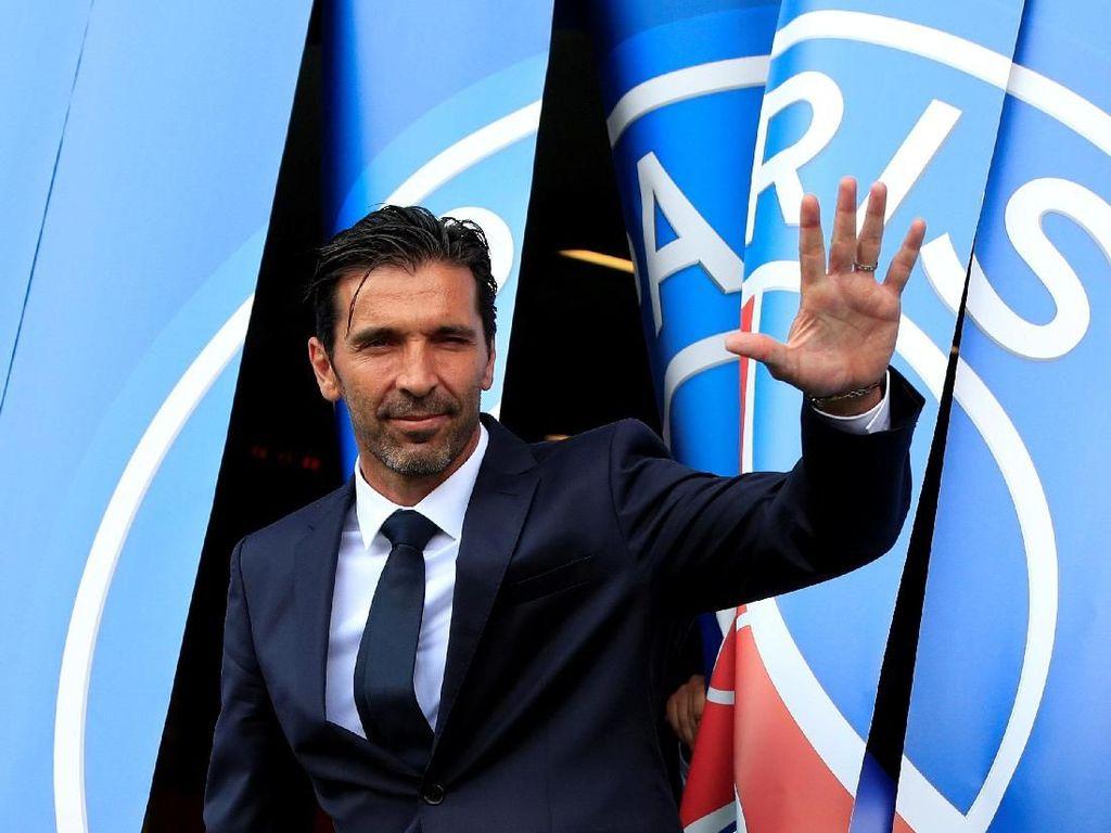 Buffon Belum Terbiasa Cuma Jadi Penonton Liga Italia