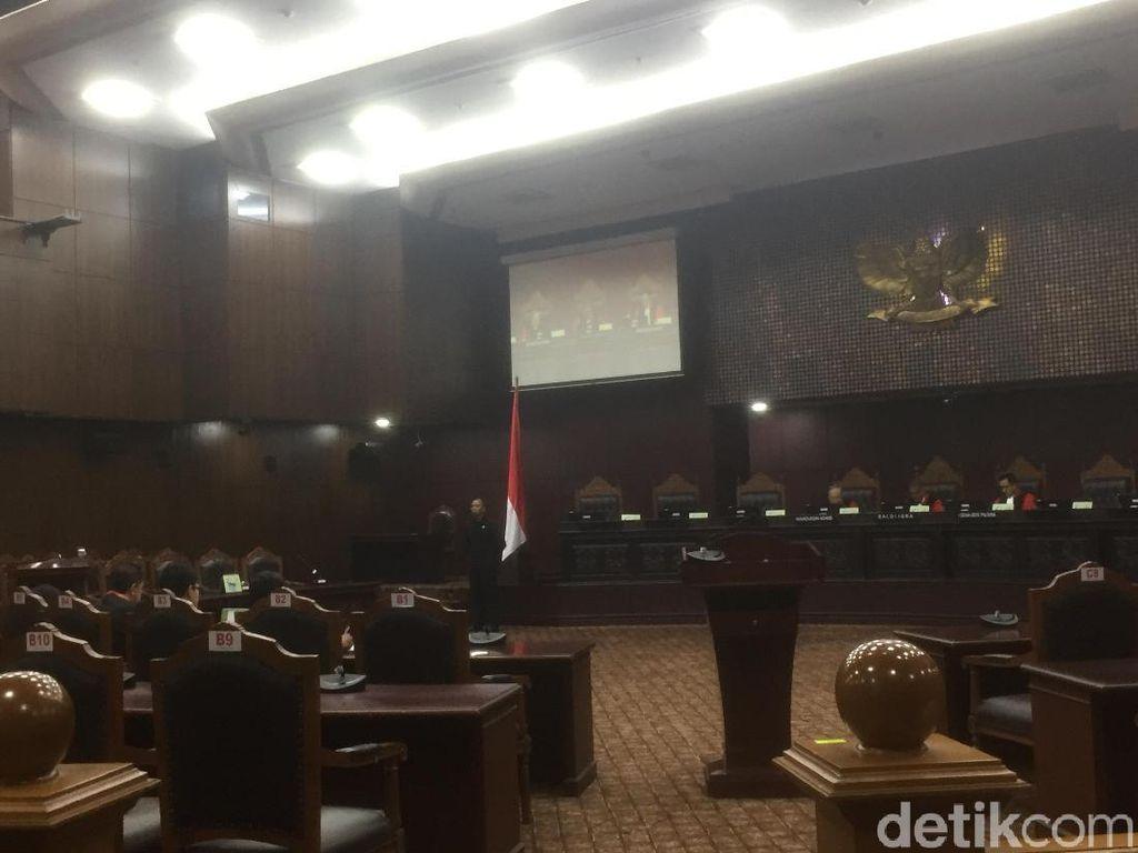 Presidential Threshold Digugat, Hakim MK: Bukan Hal Baru
