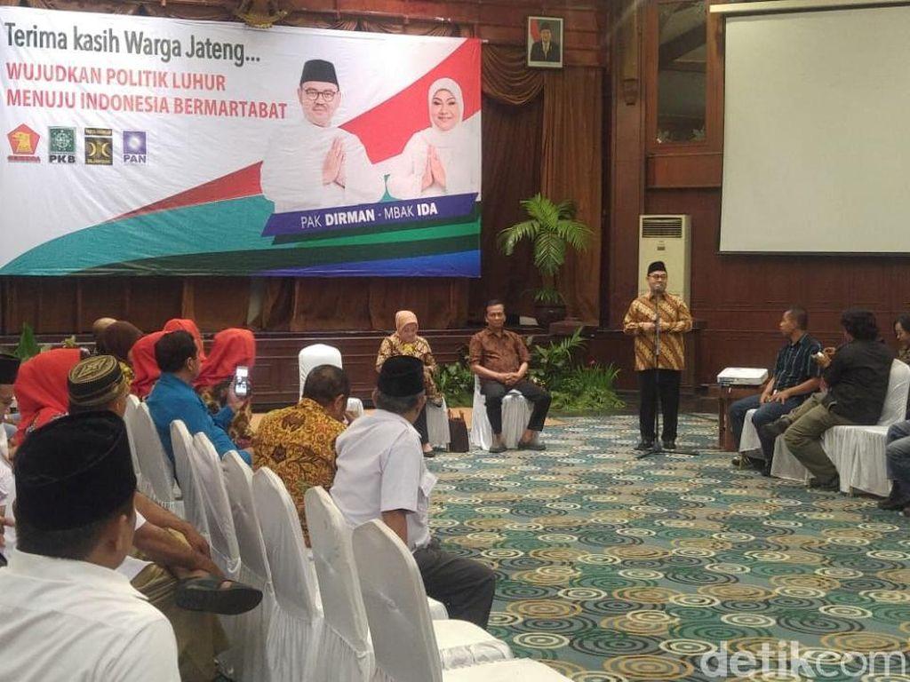 Meskipun Kalah, Sudirman Said Bangga Bisa Mengubah Politik Jateng
