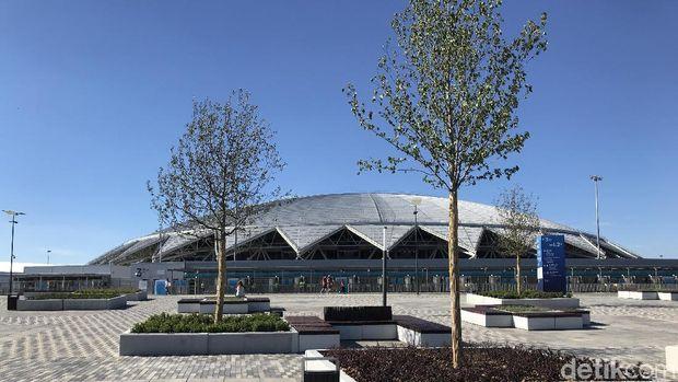 Cosmos Arena, 'Piring Terbang' Kebangaan Warga Samara