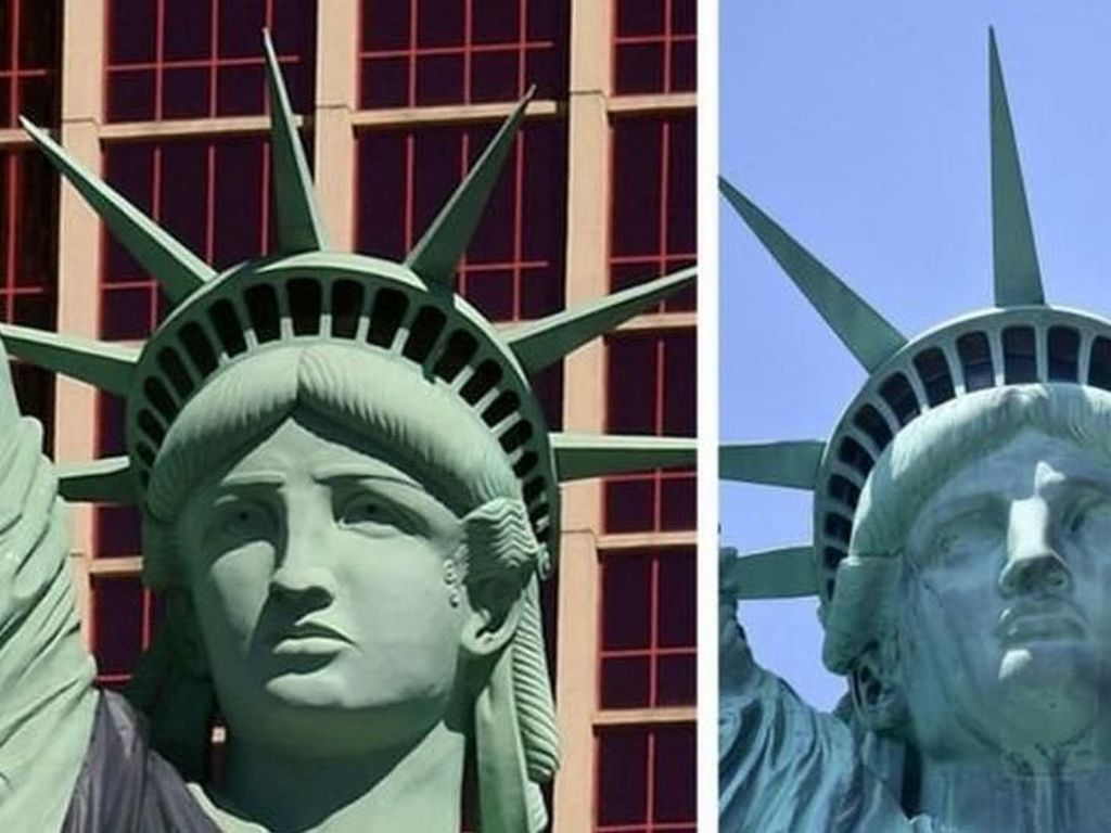 Dinas Pos AS Bayar Rp 50 M karena Patung Liberty Keliru di Perangko