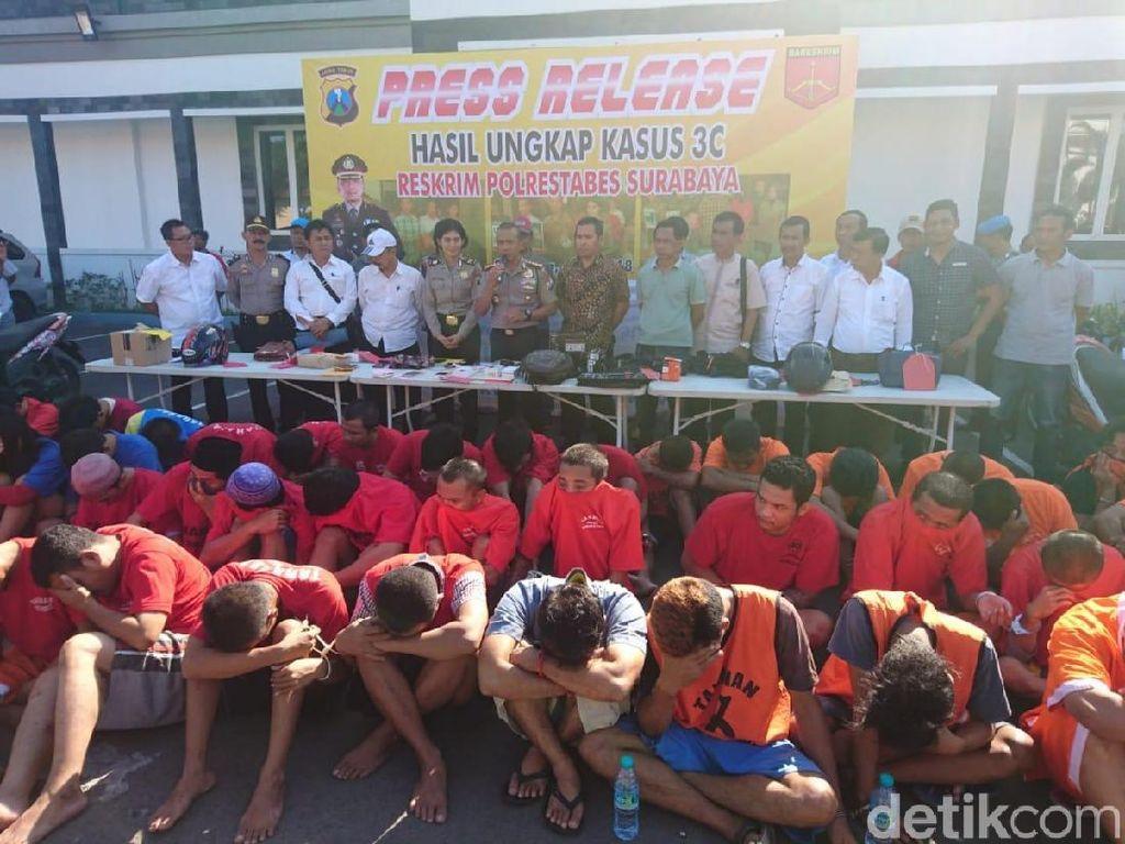 Amankan Wilayah Jelang Asian Games, 65 Bandit Jalanan Diamankan