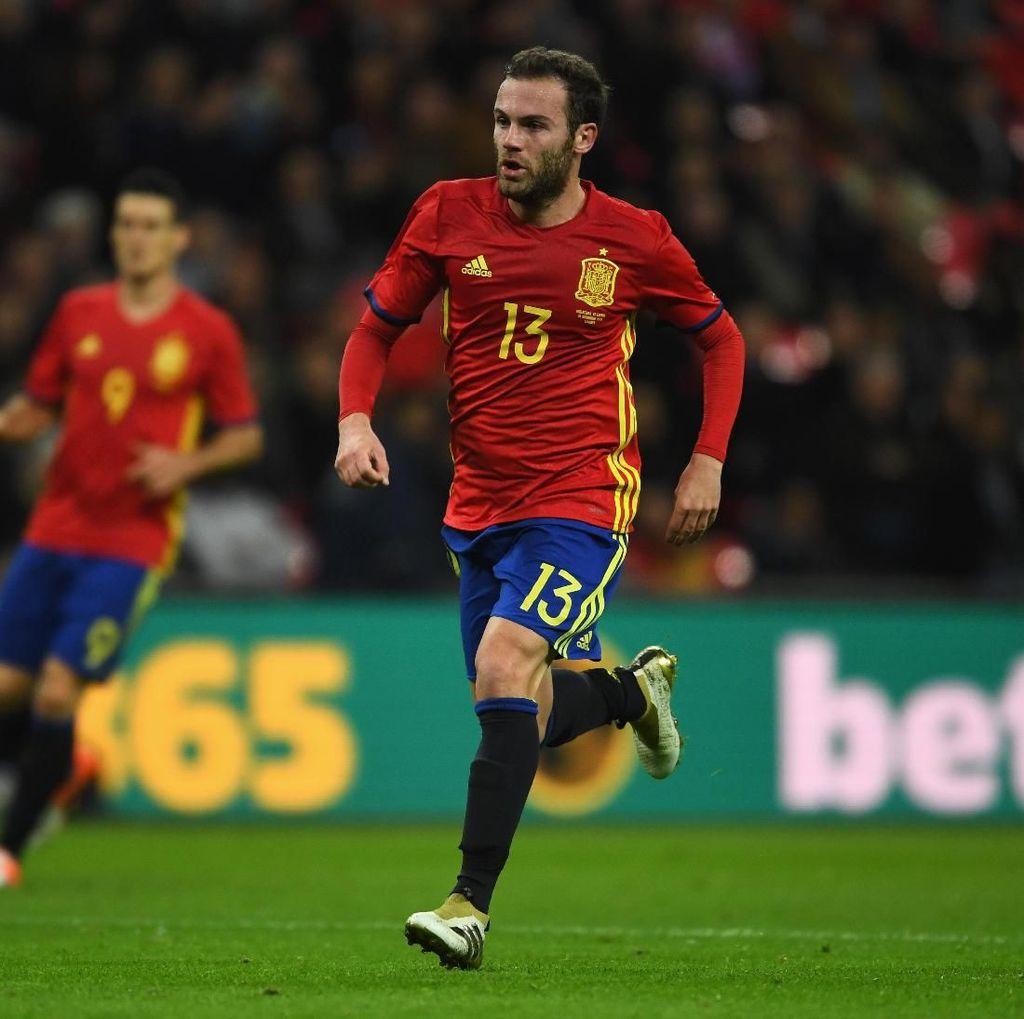 Spanyol Ganti Pelatih, Mata Berharap Kembali Dipanggil Timnas