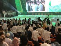 Jokowi berpesan agar jangan terpecah karena pilpres.
