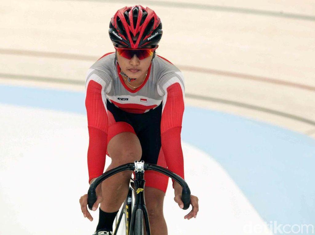 Kejuaraan Asia Balap Sepeda: Chrismonita dan Wiji Tembus Final Tim Sprint