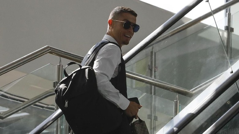 Presiden Juventus Temui Ronaldo di Yunani