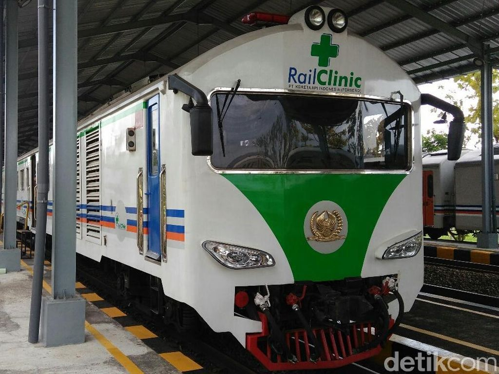 Ada di Purworejo, Cek Kesehatan Gratis di Dalam Gerbong Kereta