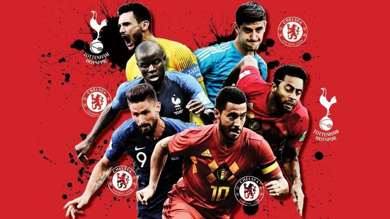 Prancis Vs Belgia: Serasa Derby London