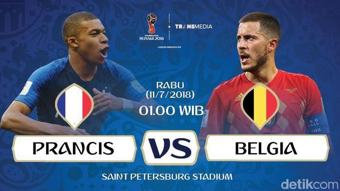 Prancis ke Final!