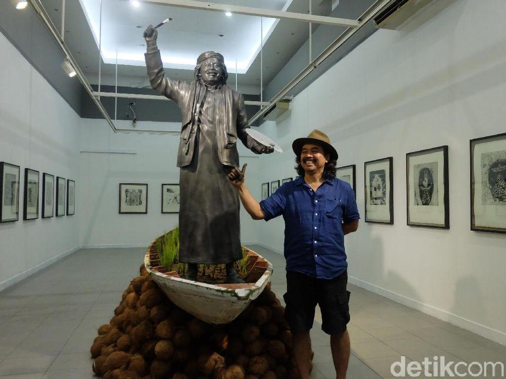 Seni Etsa Membawa Tisna Sanjaya hingga ke Jerman