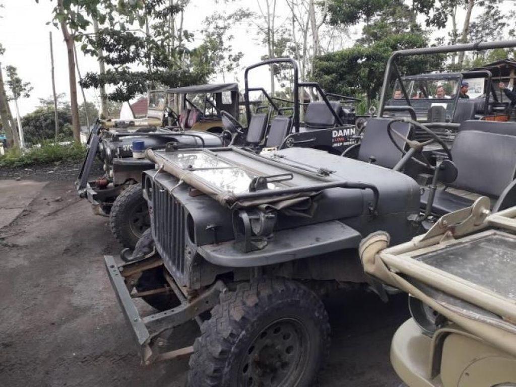 Sensasi Offroad di Lava Tour Merapi