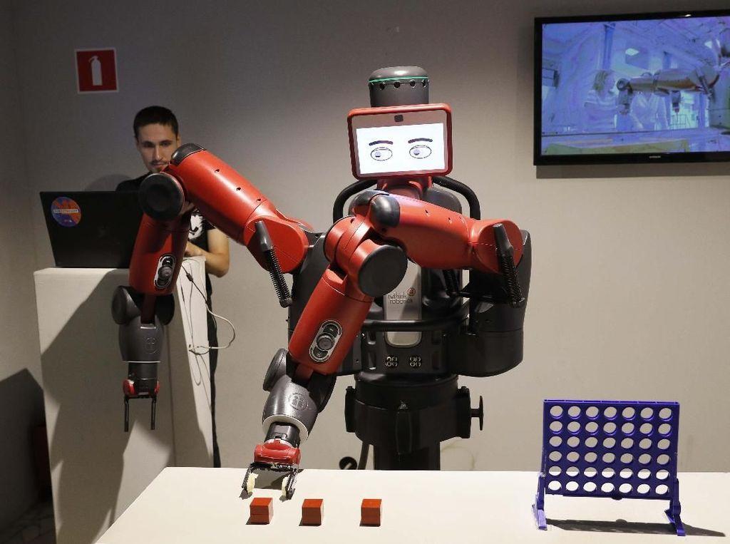 Video: Robot Ini Prediksi Prancis Kalahkan Belgia