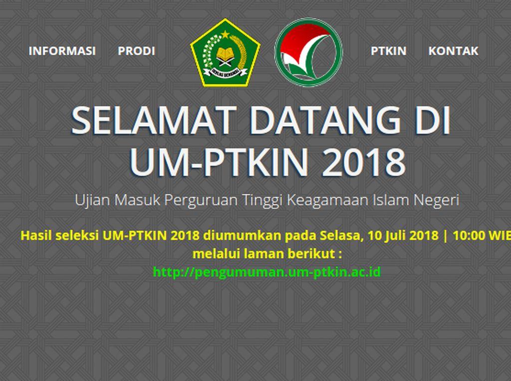 Hari Ini Pengumuman UMPTKIN 2018, Cek Hasilnya!