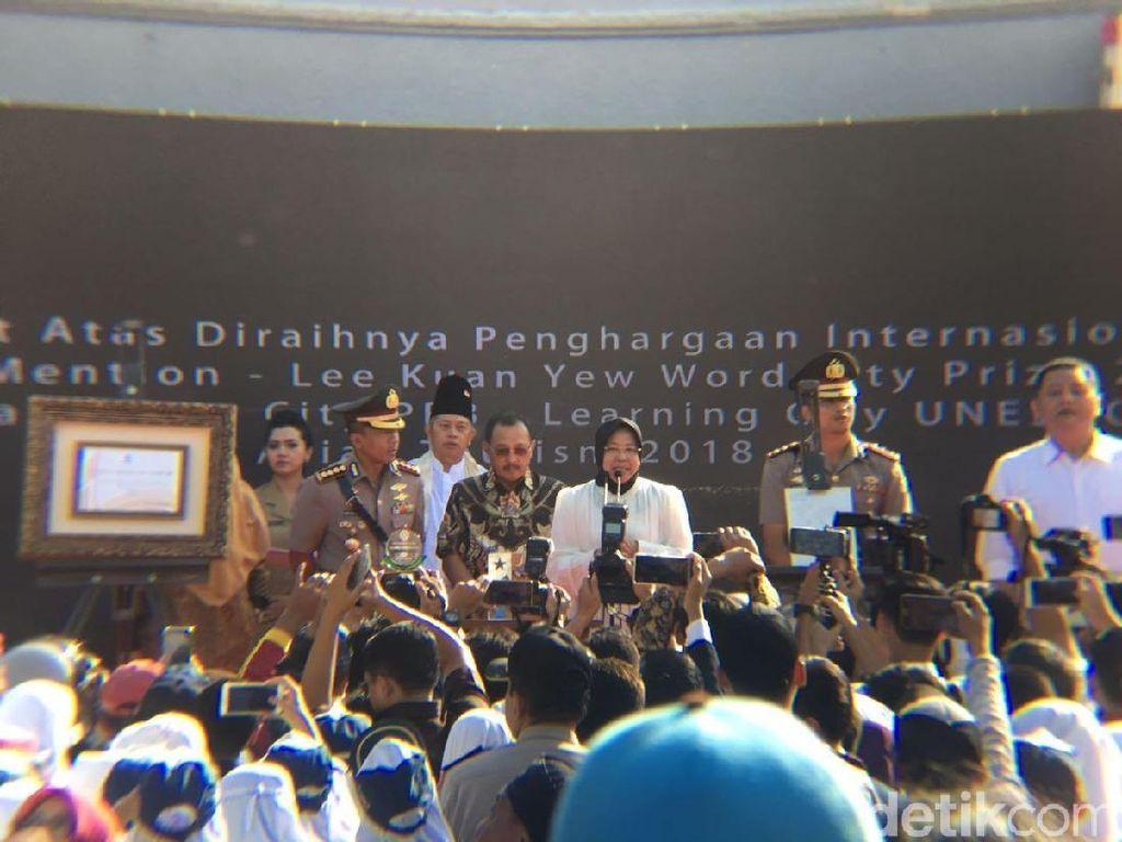 Risma Siapkan Surabaya untuk Sabet Penghargaan Internasional Lainnya