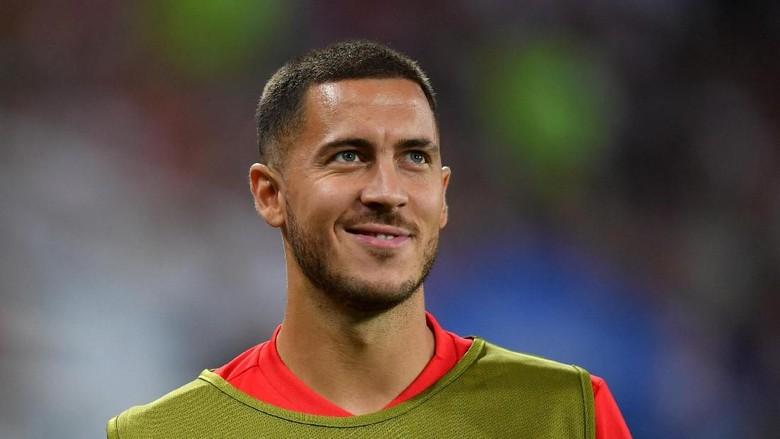 Potongan Rambut Baru Hazard untuk Sambut Semifinal Piala Dunia