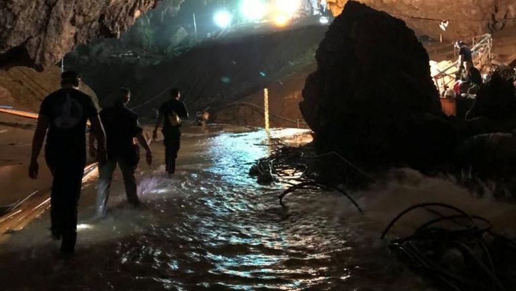 Penyelamatan di Gua Thailand Sempat Disebut 'Mission Impossible'