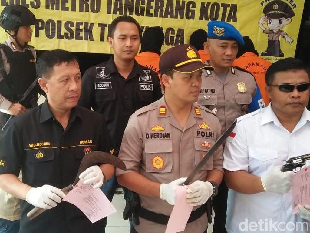 Bikin Resah Warga Tangerang, Geng Amster Ditangkap Polisi