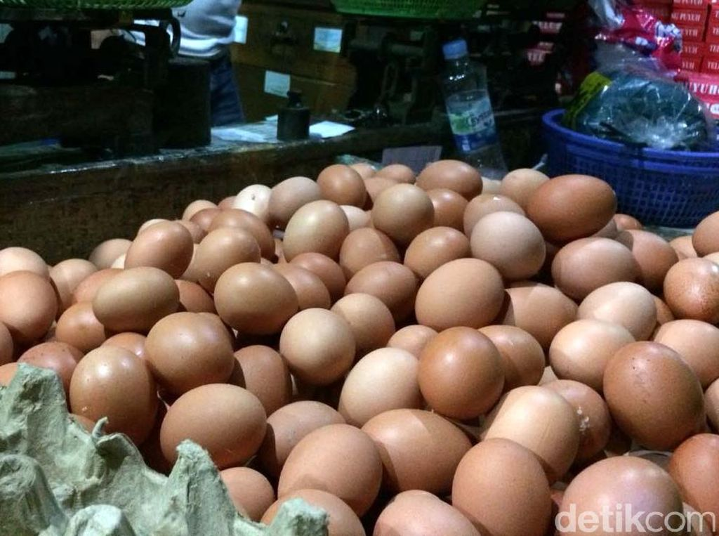 Harga Telur Ayam Ikutan Naik, Sekarang Rp 28.000/Kg