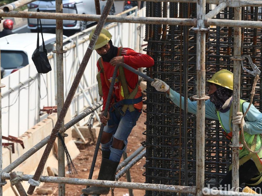 Proyek LRT di Rasuna Said Dikebut