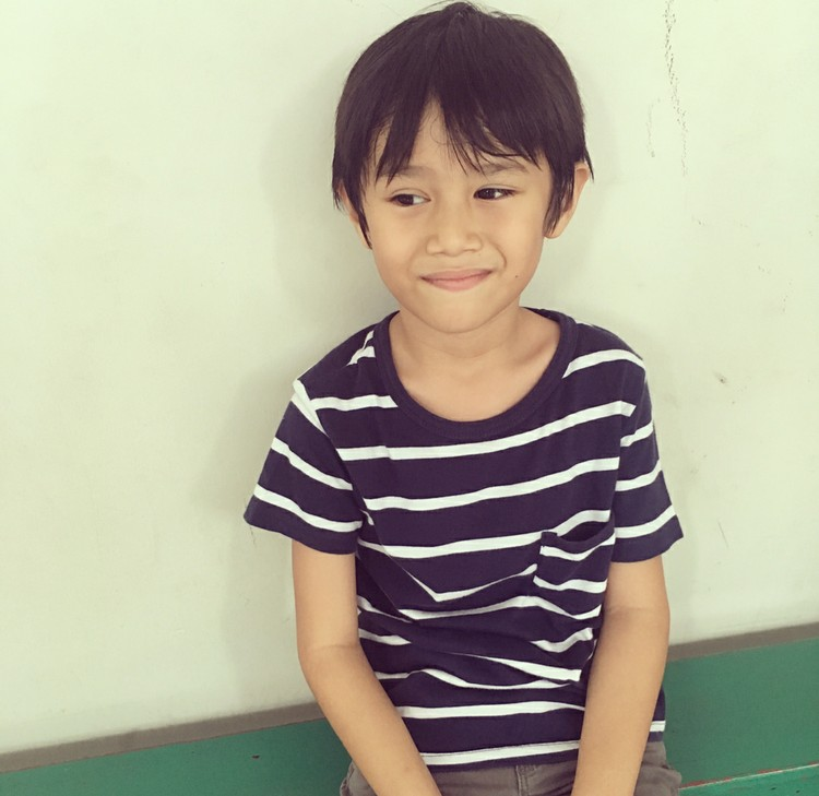 Nama El diambil Eross dari sebutan bagi anak laki-laki. Sementara Pitu artinya tujuh dalam bahasa Jawa. (Foto: Instagram/sarahcandra)