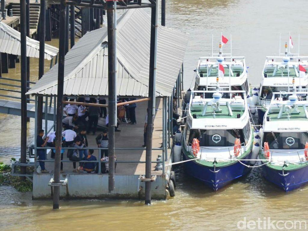 Asyik! Bus Wisata Air di Palembang Siap Susuri Sungai Musi