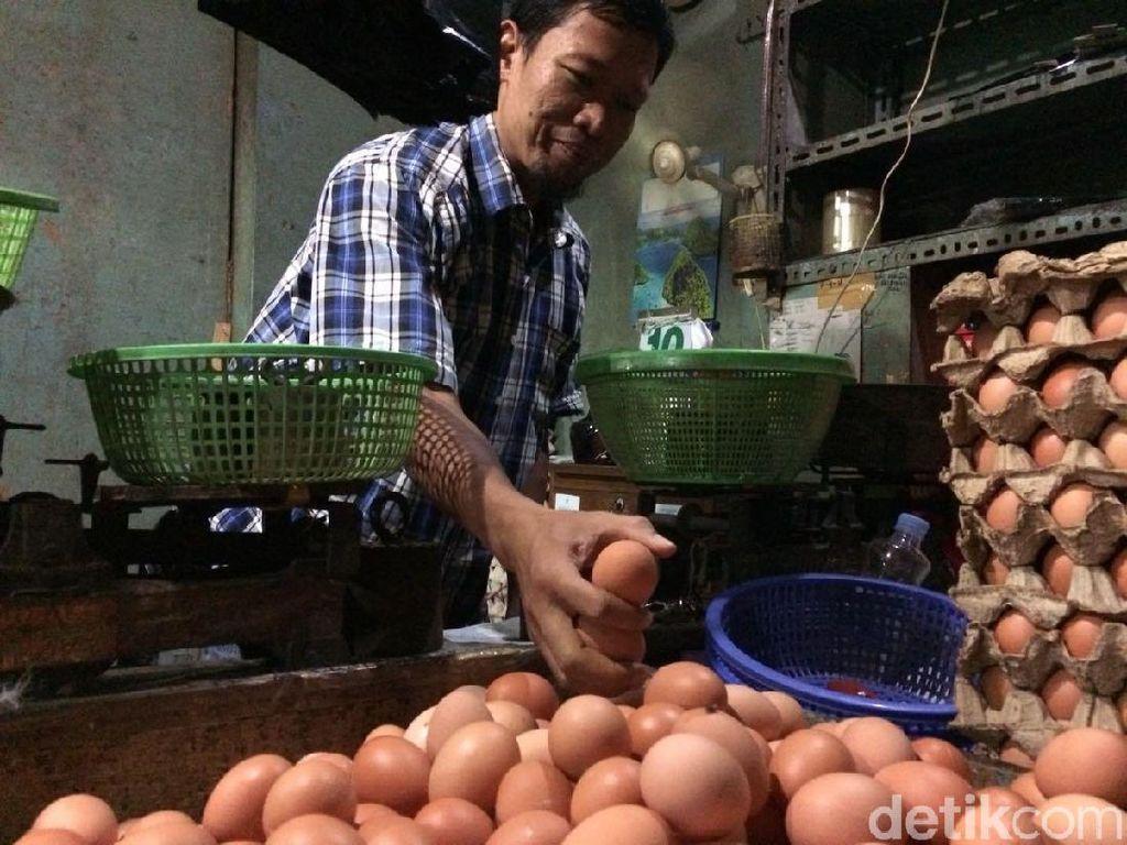 Pedagang Prediksi Harga Telur di DKI Tembus Rp 30.000/Kg