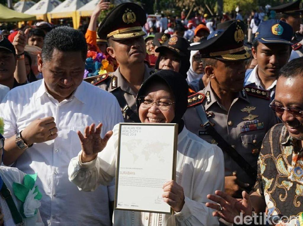 Dua Hari Berturut-turut Surabaya Puncaki Voting Guangzhou Award