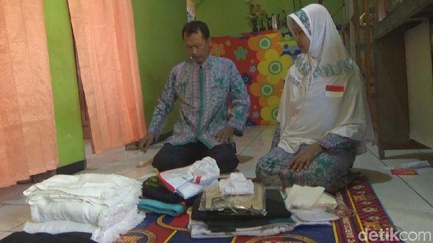 Nabung 14 Tahun, Pasutri Penjual Es Tebu di Jombang Akhirnya Naik Haji
