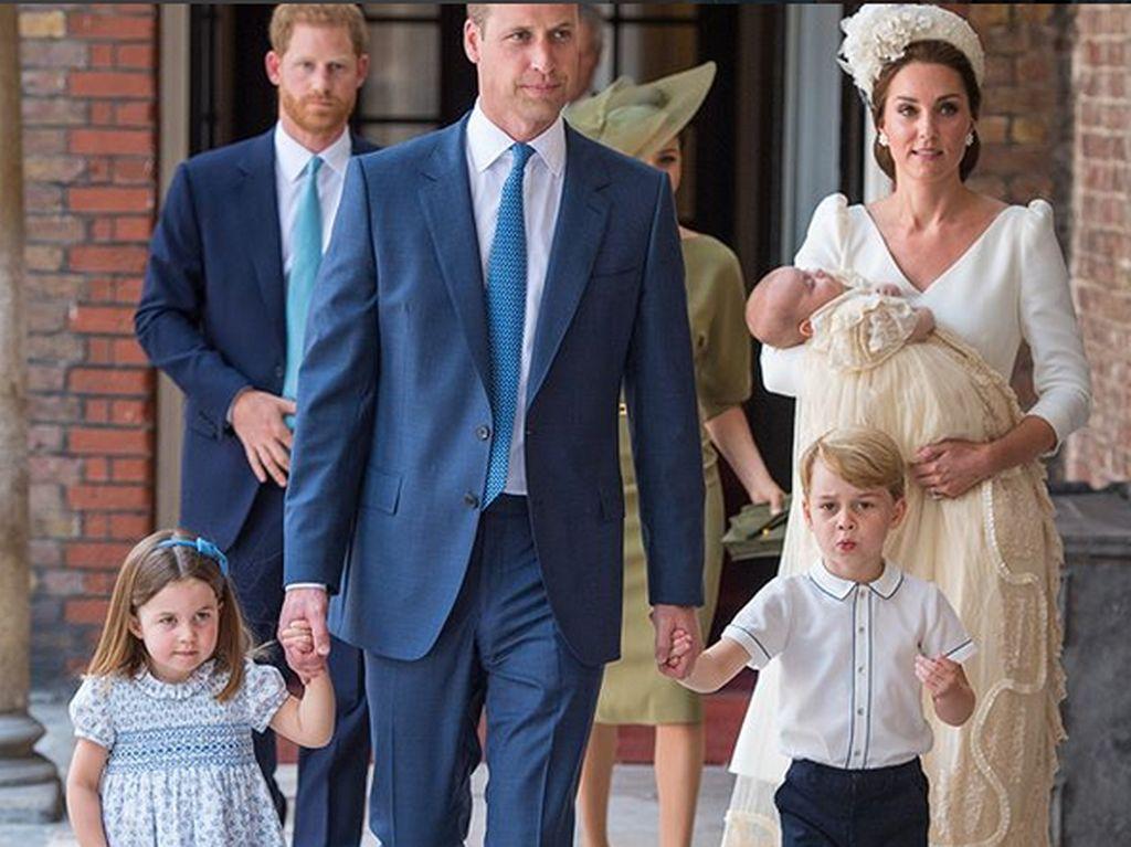 Penghormatan untuk Putri Diana di Pembaptisan Pangeran Louis