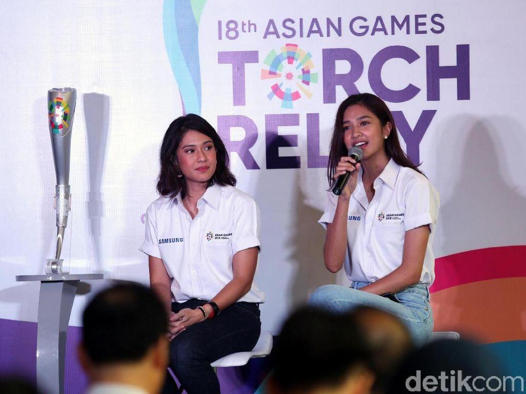 Mikha Tambayong Belajar Olahraga dari Sosial Media