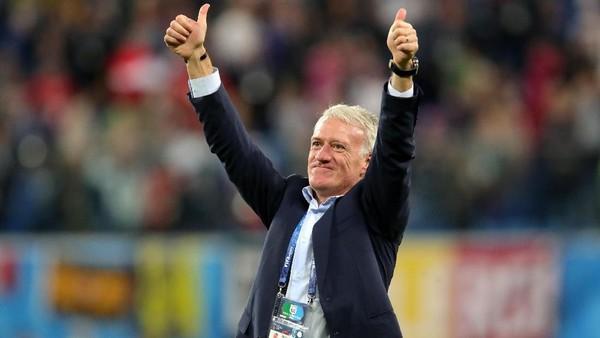 Bawa Prancis ke Final, Deschamps Berpeluang Samai Beckenbauer dan Zagallo