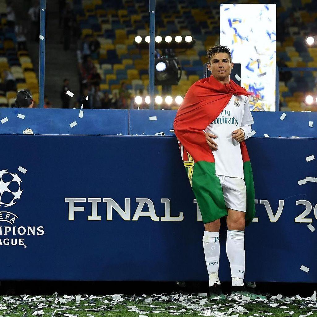 Jorge Mendes: Juventus Klub Terakhir Cristiano Ronaldo