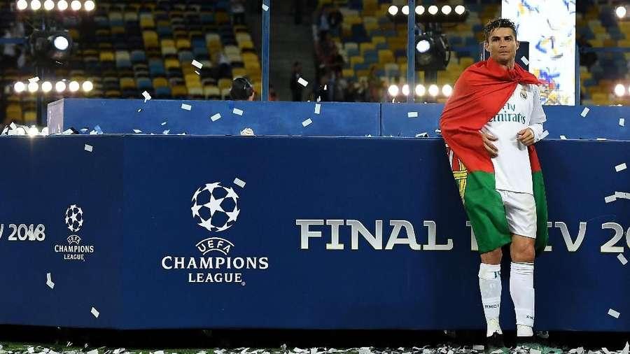 Ronaldo Ingin Jadi Jimat Keberuntungan Juve di Liga Champions