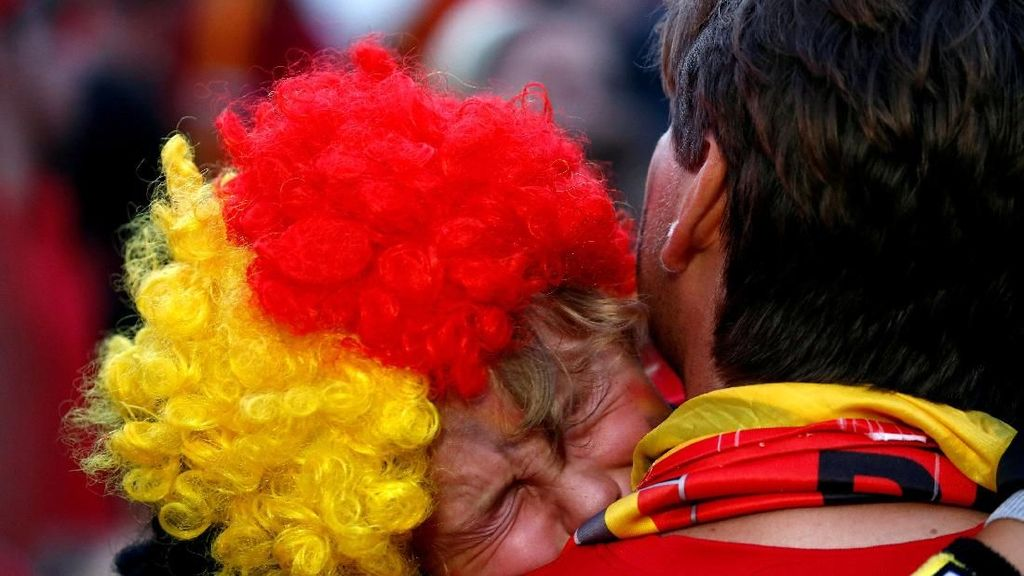 Isak Tangis Suporter Warnai Kegagalan Belgia ke Final
