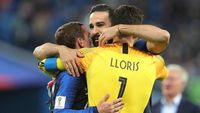 Prancis ke Final, Griezmann Sebut-Sebut Kumis Adil Rami